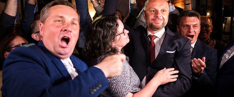 Wybory w Rzeszowie. Konrad Fijołek wygrywa