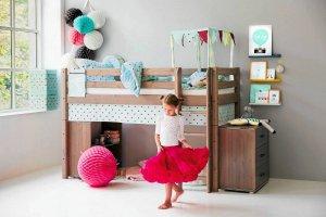 Przestrzeń dla dziecka: łóżka jak zabawki