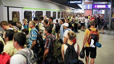 Dworzec w Krakowie