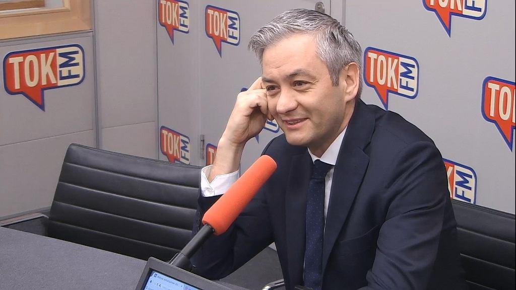 Robert Biedroń w TOK FM