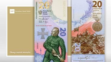 Narodowy Bank Polski wyemitował pierwszy pionowy banknot. Upamiętnia Bitwę Warszawską 1920 roku