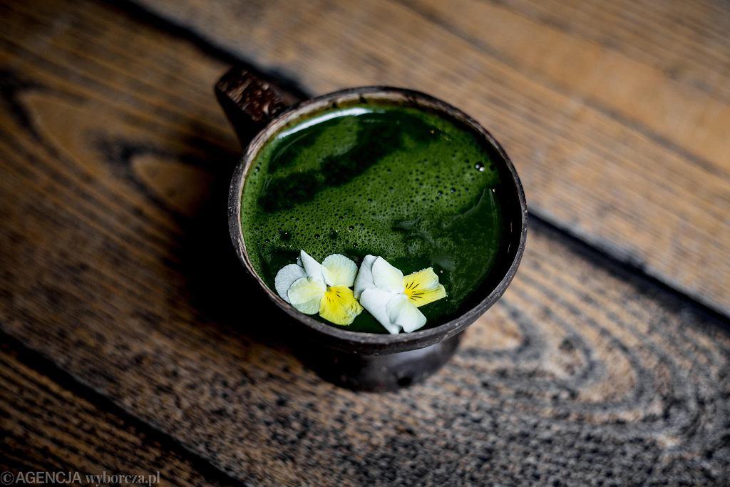 Herbata macha z restauracji Shoku / Fot. Adam Stępień / Agencja Gazeta