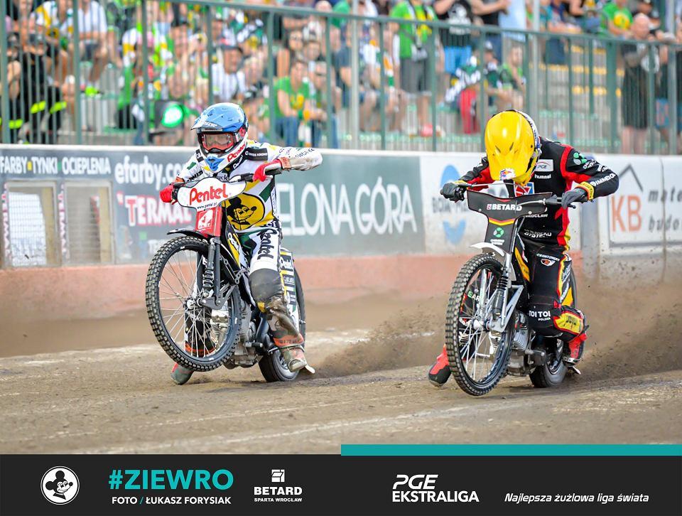 Rewanżowa runda PGE Ekstraligi 2020. Falubaz Zielona Góra na własnym torze uległ Sparcie Wrocław wynikiem 41:49