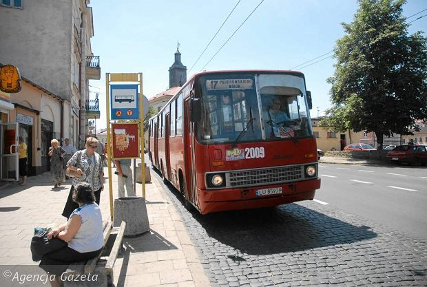 Ikarus w barwach MPK Lublin. Rok 2010