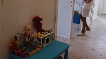 Izba przyjęć w szpitalu dziecięcym - zdjęcie ilustracyjne
