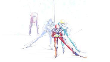 Narty biegowe - styl łyżwowy