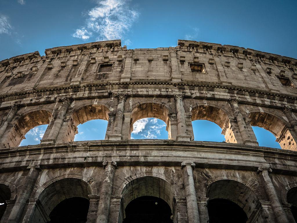 Rzymskie Koloseum (zdjęcie ilustracyjne)