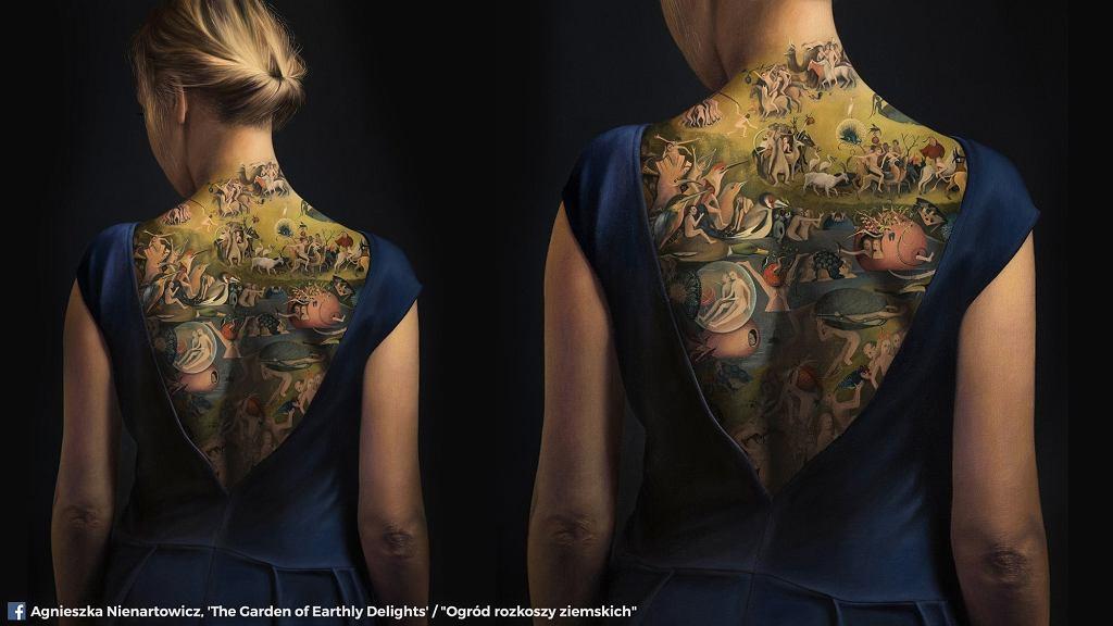 Tatuaż na plecach to złudzenie.