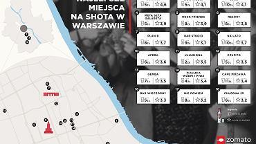 18 najlepszych miejsc na shota wódki w Warszawie