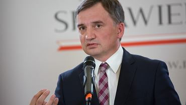 Konferencja prasowa Ministra sprawiedliwoci Zbigniewa Ziobry