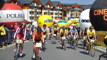 Tour de Pologne amatorów w Bukowinie Tatrzańskiej