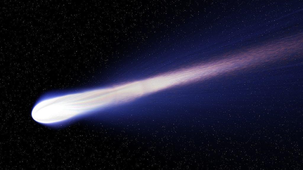 zdj. ilustracyjne, kometa