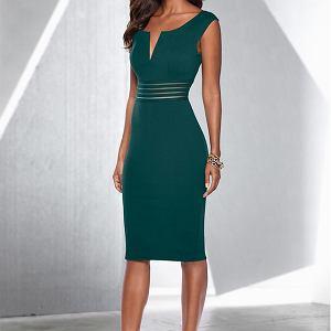 Zielona sukienka koktajlowa