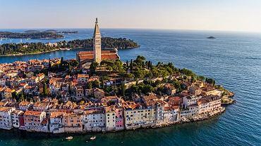 Miejscowość Rovinj w Chorwacji