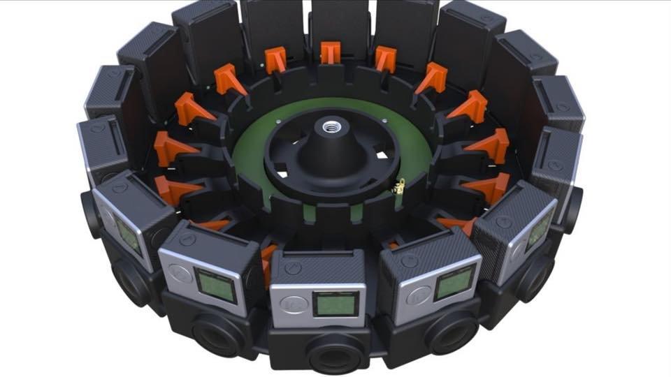 16 kamer GoPro do wirtualnej rzeczywistości