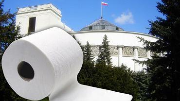 Sejm unieważnił przetarg na papier toaletowy, bo żaden nie spełniał wymogów. Teraz ogłoszono nowy