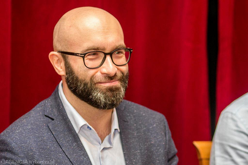 Michał Kotański, dyrektor Teatru im. Żeromskiego w Kielcach / MICHAŁ WALCZAK