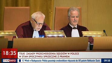 Trybunał UE - zasady przechodzenia sędziów w Polsce w stan spoczynku sprzeczne z prawem
