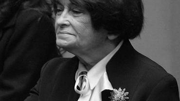 Jadwiga Kaczyńska, matka b. prezydenta Lecha Kaczyńskiego i b. premiera Jarosława Kaczyńskiego