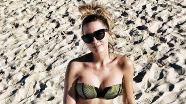 Agnieszka Hyży odpowiada na zaczepny komentarz męża seksownym zdjęciem