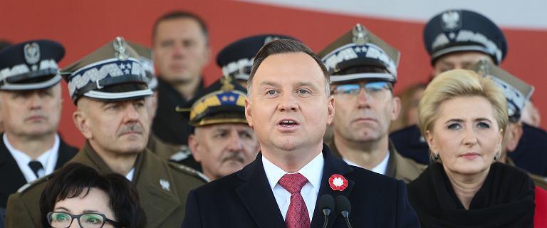 Święto Niepodległości. Andrzej Duda nawiązał do słów Romana Dmowskiego