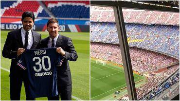 Kibice Barcelony obrażali PSG w czasie meczu po transferze Lionela Messiego