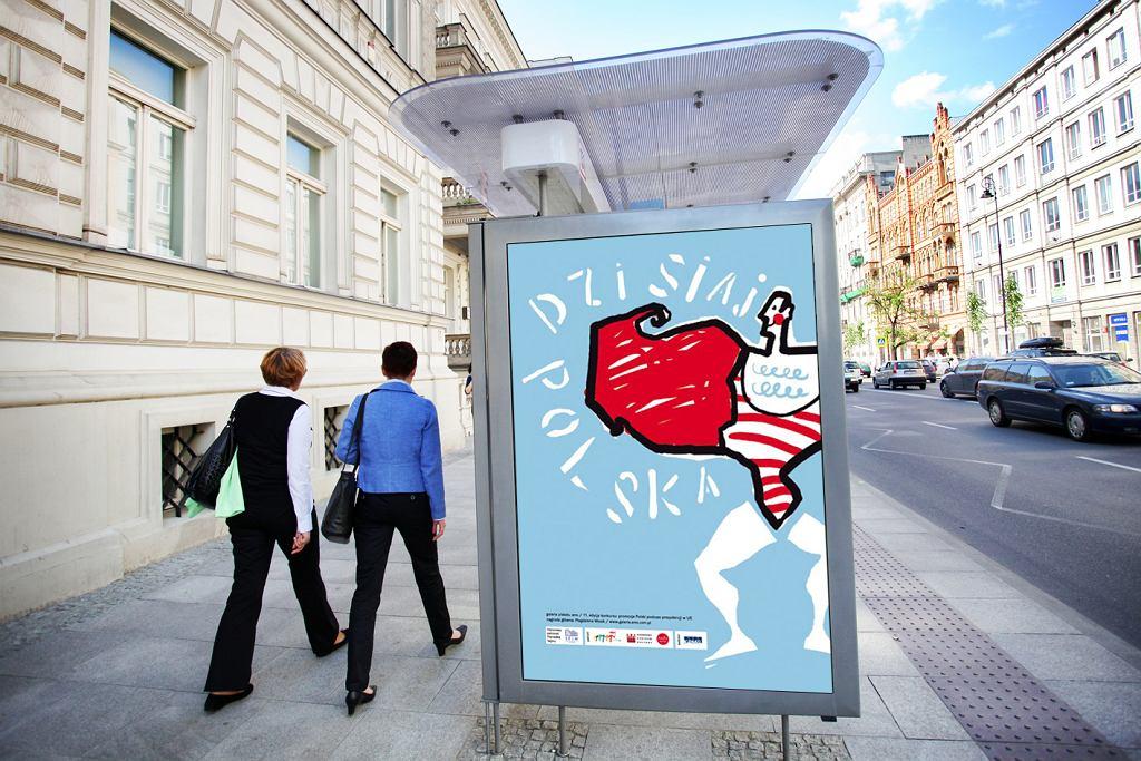 Plakat Magdaleny Wosik