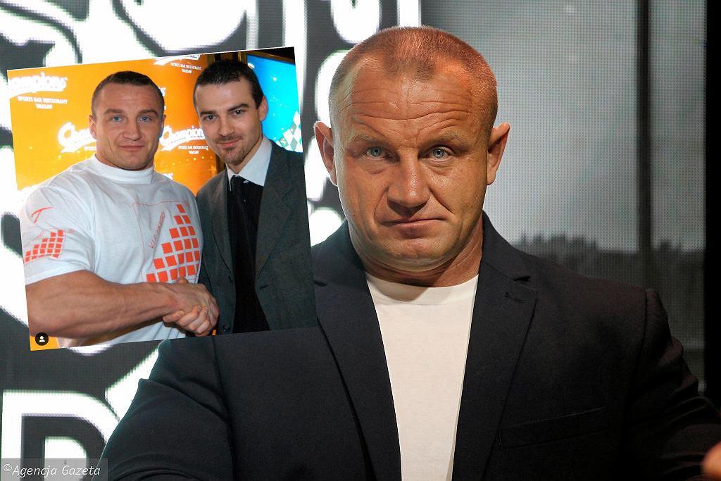 Mariusz Pudzianowski i Martin Lewandowski