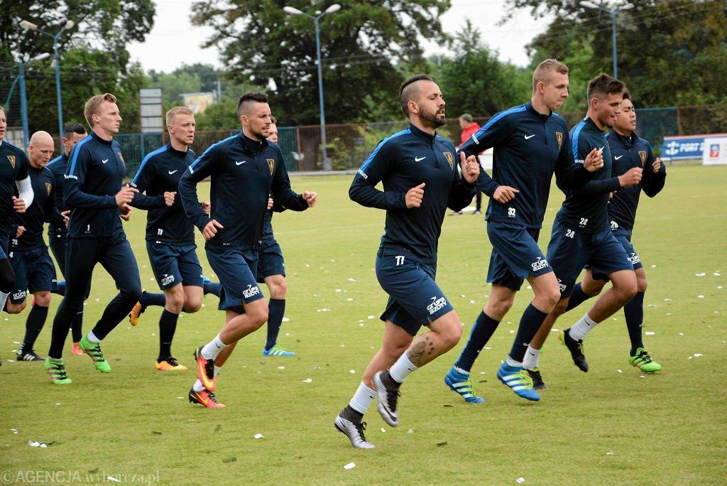 Pogoń Szczecin przygotowuje się do nowego sezonu ekstraklasy