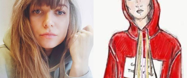 Lewandowska zaprojektowała bluzę, by pomóc choremu dziecku. Fani narzekają na cenę