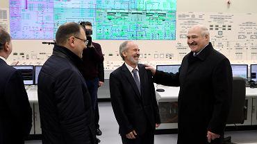 Białoruś. Alaksandr Łukaszenka (z prawej).