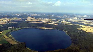 Niemcy. Wulkan pod jeziorem Laacher See powoli się wybudza