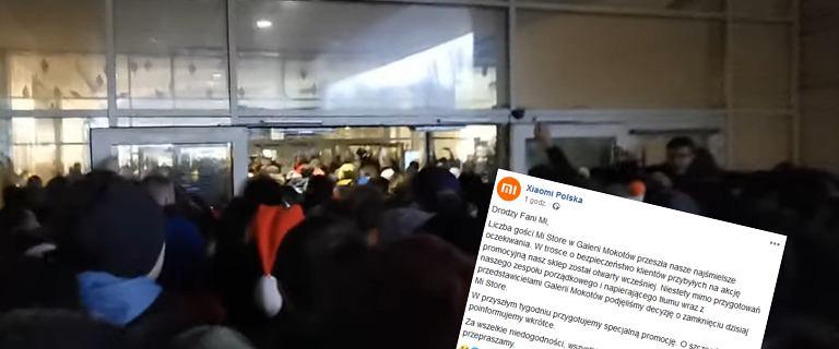 Xiaomi zrobiło promocję. Wielki tłum i wezwana policja. Sklep trzeba było zamknąć