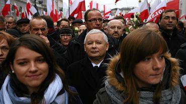 """""""Marsz w Obronie Demokracji i Wolności Mediów"""" w Warszawie"""