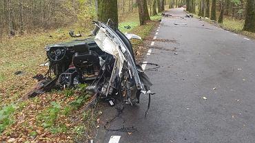 Wypadek Audi A8