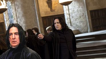 Alan Rickman jako prof. Severus Snape