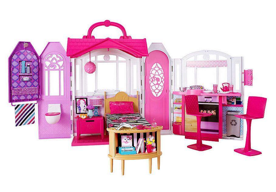 Nowoczesny Domek Barbie