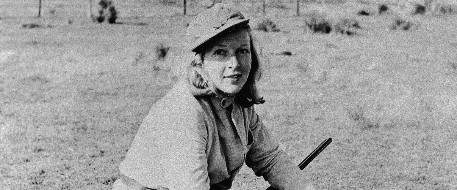 Martha Gellhorn podczas wakacji w 1941 roku (Fot. E. L. Chapin/ East News)