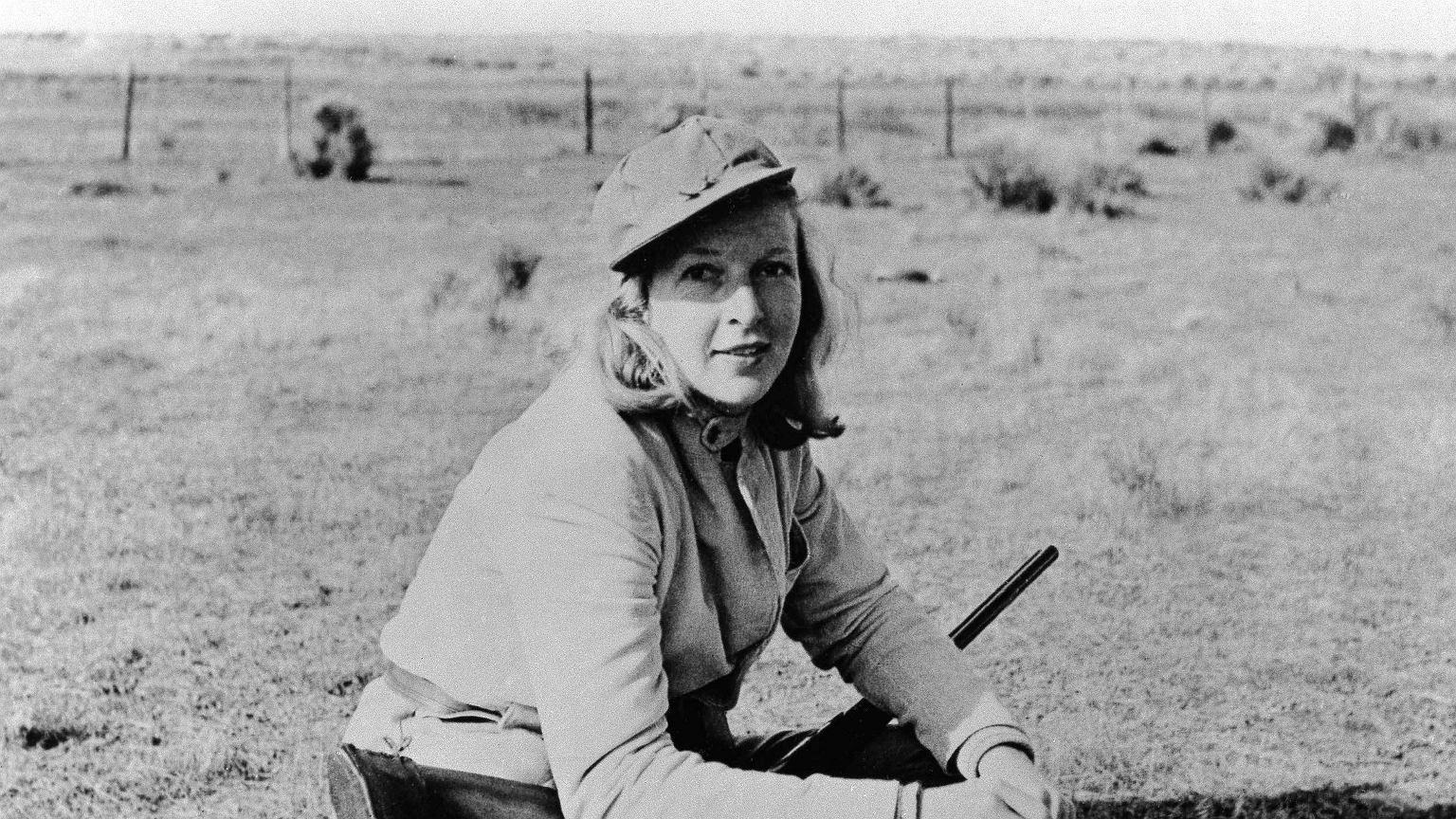 Martha Gellhorn podczas wakacji w 1941 roku