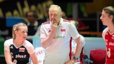 Jacek Nawrocki, selekcjoner reprezentacji Polski siatkarek