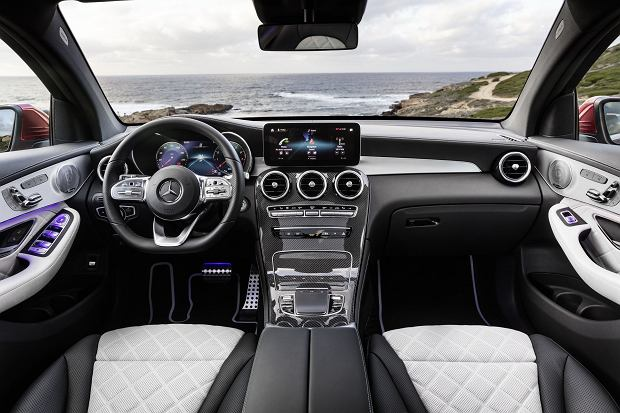 Mercedes GLC Coupe facelifting 2019
