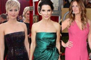 Jennifer Lawrence, Julia Roberts, Sandra Bullock