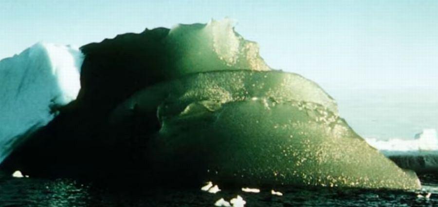 Zielony lodowiec