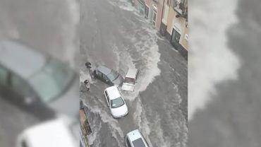 Powódź w Katanii na Sycylii