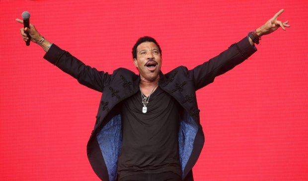 Lionel Richie w Glastonbury