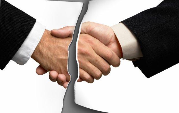 Unieważnienie umowy przetargu
