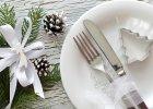 Grzybowa i barszcz na jednym stole