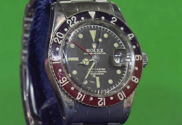 Prawie 60-letni Rolex nosi ślady użytkowania, ale nadal działa bez zarzutu