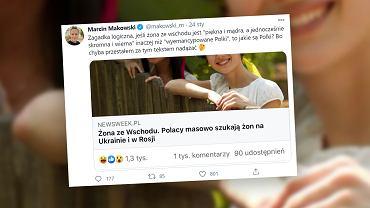 Polacy masowo szukają żon na Wschodzie? Oburzenie po tekście Newsweeka