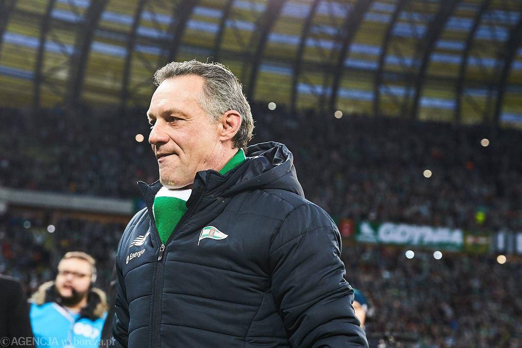 Trener Lechii Piotr Nowak